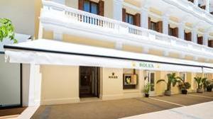 Exterior de la nueva boutique de Rolex en Ibiza