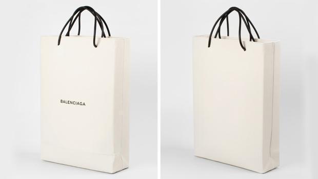 """La """"bolsa de papel"""" de Balenciaga más cara del mundo"""