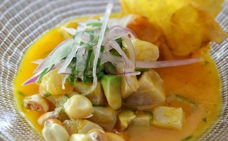 Ceviche limeño