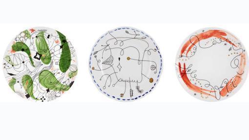 Tres piezas de la colección Folkifunki