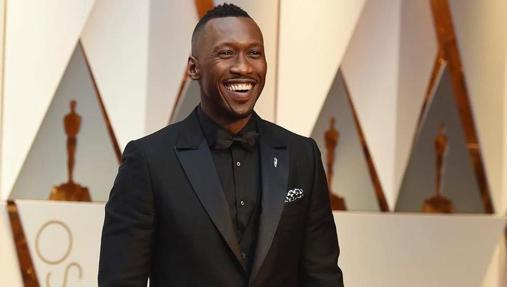 El actor en la entrega de los Oscar 2017