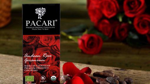 Chocolate con rosas, una combinación de lujo
