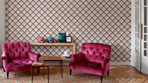 Papel pintado arte en el hogar - Papel pintado gaston y daniela ...