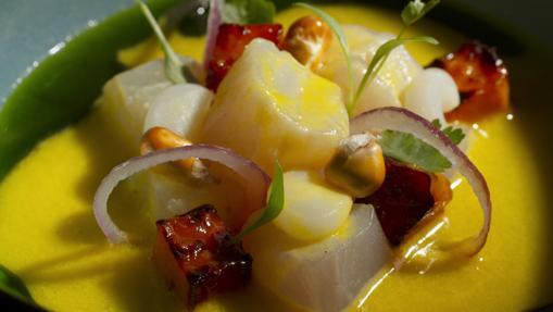 Ceviche aji amarillo