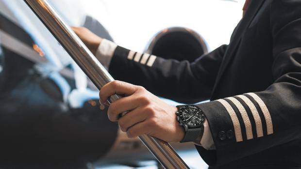 Modelo Chronoliner, el reloj de los pilotos