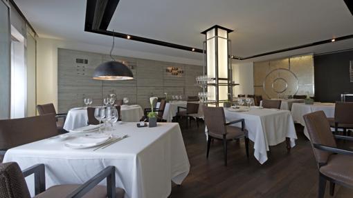 Salón del restaurante Arzak