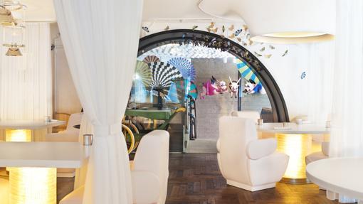 Decoración del restaurante DiverXO