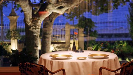 Mesa del restaurante Sant Pau