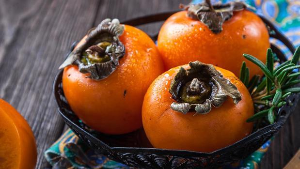 El caqui es otro fruto exótico que se ha adaptado estupendamente en España