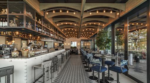 Espacio del restaurante La Mamona