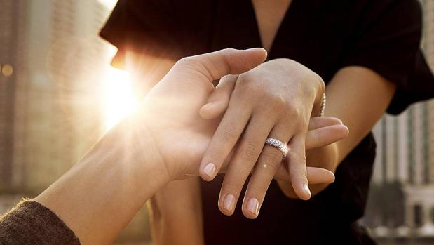 Una promesa de amor con una joya única