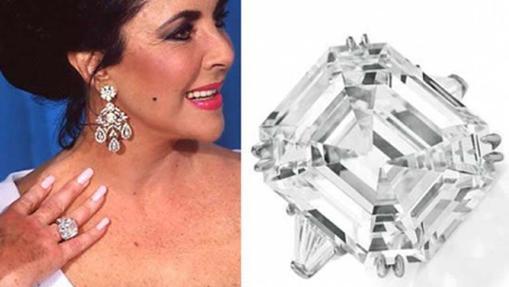 El anillo más caro del mundo lo recibió Lyz Taylor