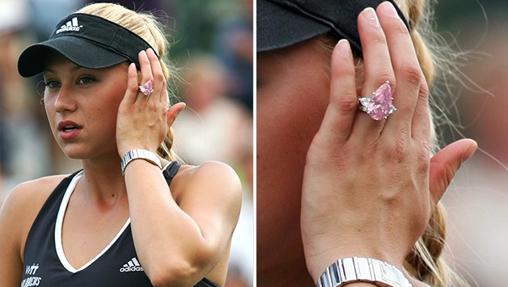 El diamante rosa de Anna Kournikova