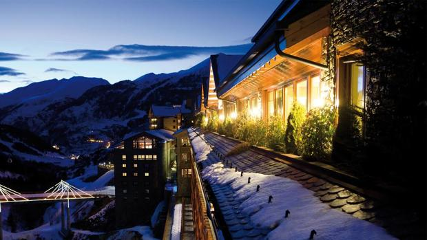 Hoteles de lujo para los amantes del esquí