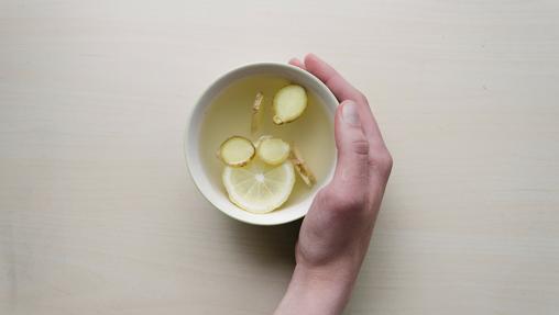 Té con jengibre y limón