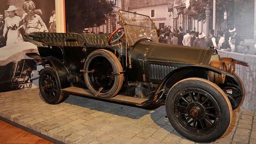 En este vehículo estalló la I Guerra Mundial