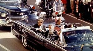 El presidente Kennedy en Dallas (Texas) el día que fue asesinado