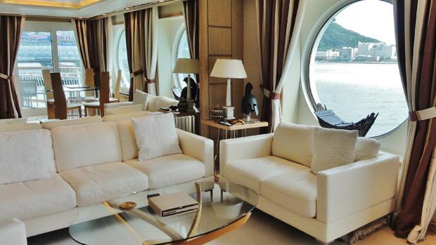 Vivir en un barco de lujo cuesta 6 millones de euros