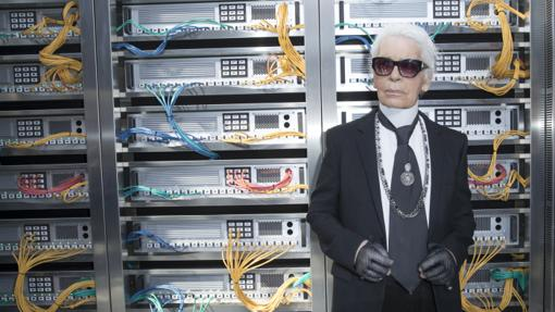 Lagerfeld, en 2016 durante la Paris Fashion Week