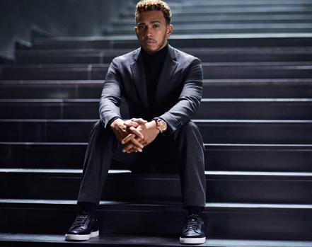 Hamilton como imagen de Boss