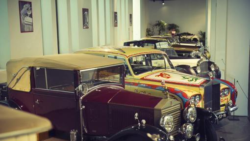 En el museo hay más de cien vehículos históricos