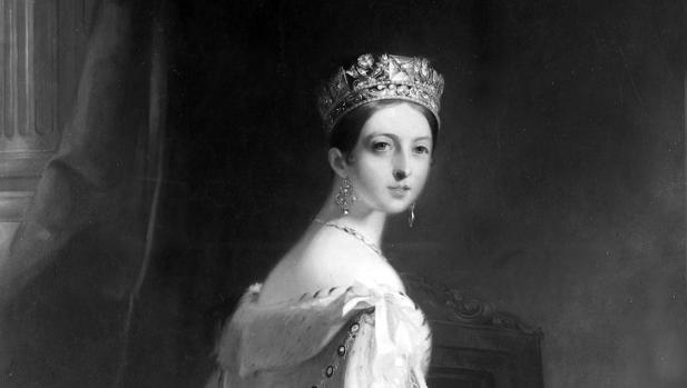 1bd640f4881d La reina Victoria de Inglaterra luce una de sus lujosas tiaras