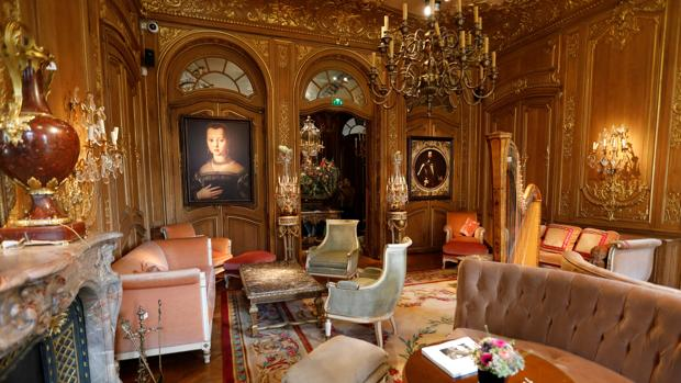 Le salón Proust, la habitación del escritor en el Ritz de París
