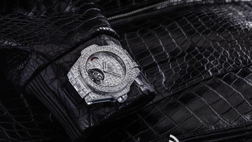 4057c84682ad Hublot Big Bang Tourbillon Croco High Jewellery