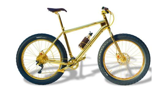 24k Gold Extreme Mountan Bike