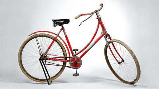 La bicicleta se subastó en la casa Bonhams
