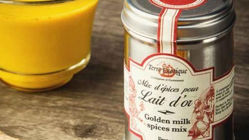 La mezcla para Golden milk de Terre Exotique
