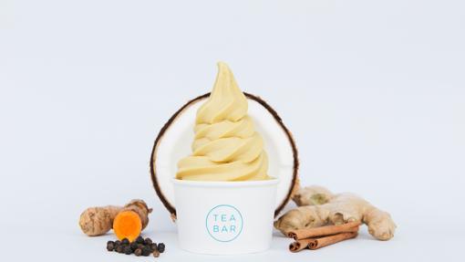En Tea Bar, la Golden milk se toma también con hielo y en versión helado