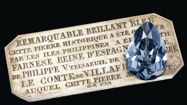 Subastan el misterioso diamante de Isabel de Farnesio