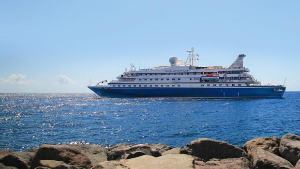 Uno de los barcos de la compañía