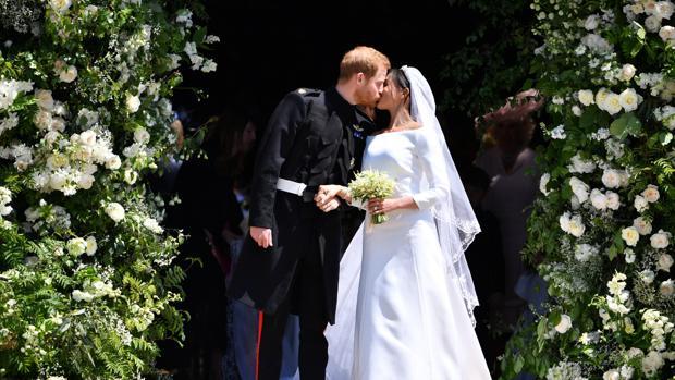Las flores de 125.000 euros de la boda de Meghan Markle y el príncipe Harry