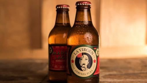 La cerveza sin gluten de la marca madrileña La Virgen