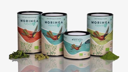 La gama completa de productos de Moringa Nature