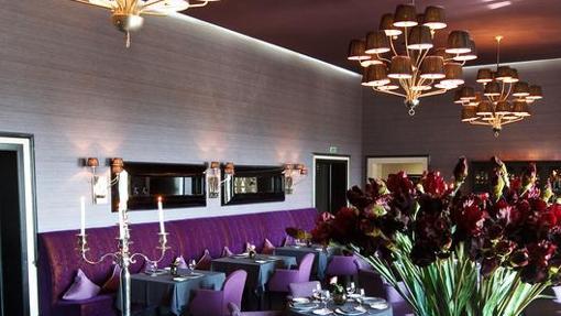 El restaurante de hotel de lujo de Sochi