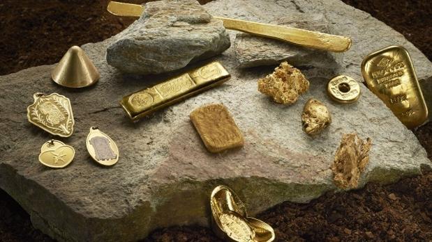 Lingotes de oro, una moneda universal para viajar