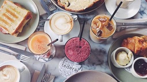 Delicioso desayuno de Federan Café