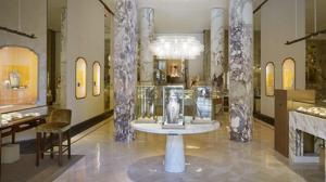 La elegante boutique de Bulgari en la Ciudad Condal