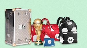 La casa francesa apuesta por la marroquinería futbolera de lujo