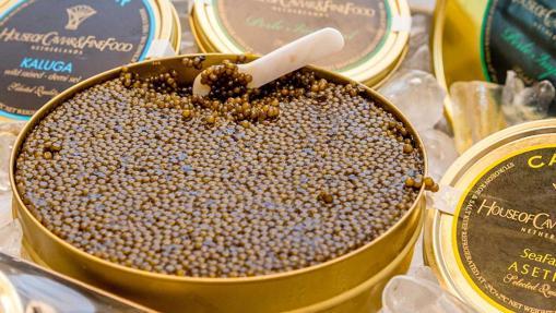 El caviar es puro lujo ruso