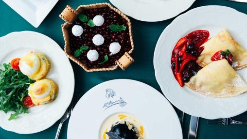 El Café Pushkin es el lugar ideal para disfrutar de la gastronomía rusa