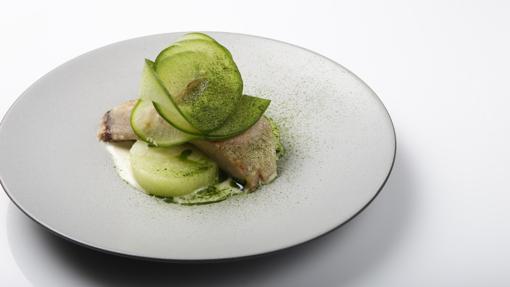 Uno de los platos de Dmitry Blinov en Madrid Fusión