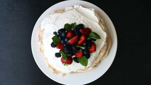 La tarta Pavlova está inspirada en una famosa bailarina rusa