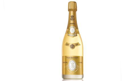 Una botella de Louis Roederer Cristal de 2008