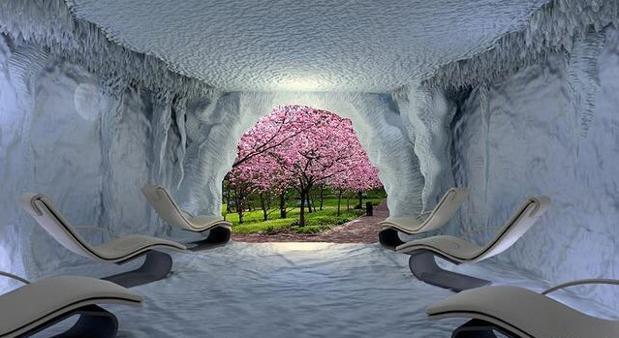 Las cuevas de sal son lugares relajantes con grandes propiedades para la salud