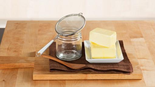 Es un tipo de mantequilla clarificada de la India