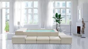 La piscina italiana que decorará tu salón